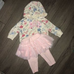 Baby Gap Matching Outfit w/tutu skirt and jacket